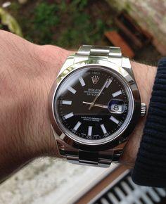 ROLEX Datejust 2 116300 cadran noir | ///AMG