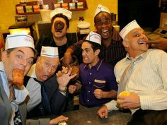 time to make the donuts with the cast of Psych.I love this show, especially this episode! Shawn And Gus, Shawn Spencer, Best Tv Shows, Best Shows Ever, Favorite Tv Shows, Movies Showing, Movies And Tv Shows, Psych Quotes, Psych Memes