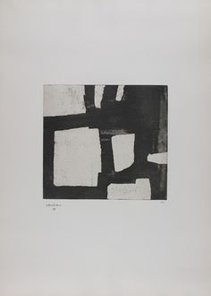 Being reminded how much I love Eduardo Chillida: Bat Zazpi 1970 Art Blanc, Abstract Words, Found Art, Contemporary Abstract Art, Minimalist Art, Sculpture, Painting & Drawing, Printmaking, Design Art
