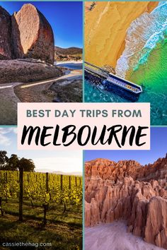 The best day trips 1, 2 and 3 hours away from Melbourne! On the below list of beautiful destinations in Victoria are famous natural attractions, hidden gems you might not yet of heard of, and intriguing cities and historical towns that don't always get the attention they deserve. And yes, there are many gorgeous coastal views to hunt for too, not to mention the miles of Australian wilderness waiting to be discovered.... #melbourne #australia #victoria #travel #destinations Weekend Trips, Day Trips, Perth, Places In Melbourne, Melbourne Travel, List Of Days, Sydney, Australia Travel, Melbourne Australia