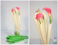 Calla Cones 14.5 x 12 pcs. Green and Natural