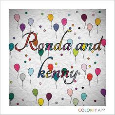 Ronda and kenny