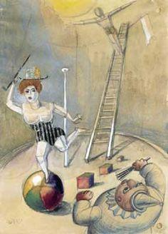 Otto Dix - Zirkusscene