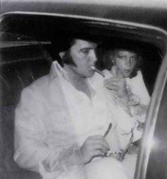 {*Elvis with Sheila who also is no longer with us she passed away with Lung disease September 2012*}