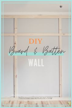 Feature Wall Bedroom, Accent Wall Bedroom, Board And Batten, Bedroom Wall Designs, Wall Trim, Diy Home Improvement, Frames On Wall, Diy Wall, Home Projects