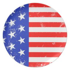 *I Love America Collection Dinner Plates