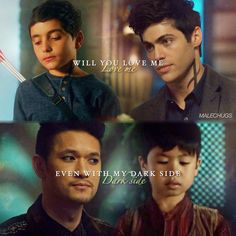 Both of them had a difficult childhood and it makes me sad bc they're my babies and they must be protected at all costs - Shadowhunters- TMI
