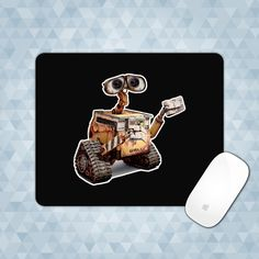 Mouse Pad WALL-E Mousepad Mouse Mat Office Mousemat Mice Custom Personalized Monogram - RD001002