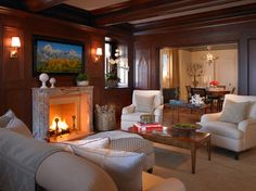 Pacific Heights Residence - Cocktail Lounge - traditional - family room - san francisco - Gast Architects