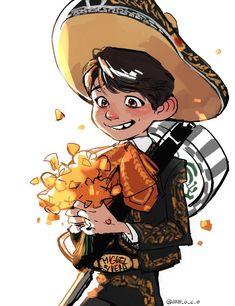 """l-o-c-o: """"That cuuuute mariachi boy """""""
