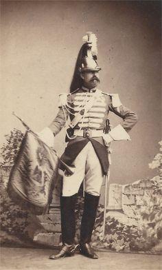 Trompette de Cuirassiers - Garde impériale - II Empire
