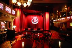 The stage at the back of the Flatiron Room, NYC #bars #whisky