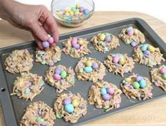 Easter Nests! My favorite Easter dessert. Yummy!