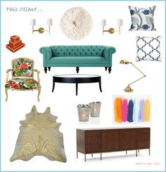 Living Room :: love all the color