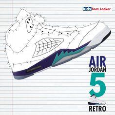 air jordan 5, retro, Foot Locker | marc salvador