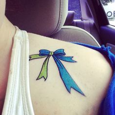 Idiopathic Intercranial Hypertension awareness ribbon. Most definitely getting this