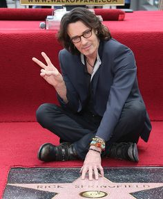 Rick Springfield gets star on Hollywood Walk Of Fame 5-9-14
