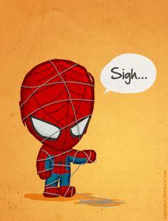 Bad day...poor Spidey.