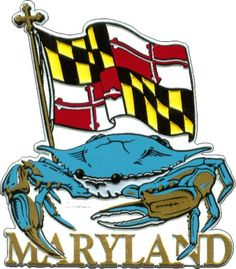 Maryland Blue Crab Flag