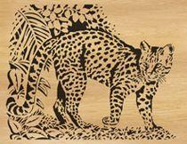 scroll saw patterns by Alex Fox 068-oncilla