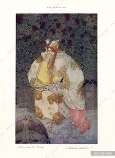 Gustav Adolf Mossa 1922 Le Paradis et la Péri Period Costume