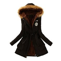 online shopping for Qingfan Super Warm Long Coat Fur Collar Hooded Jacket Slim Winter Parka Outwear Down Coat from top store. See new offer for Qingfan Super Warm Long Coat Fur Collar Hooded Jacket Slim Winter Parka Outwear Down Coat Best Winter Coats, Winter Coats Women, Coats For Women, Jackets For Women, Ladies Coats, Long Winter, Top Mode, Long Faux Fur Coat, Dresses