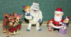 Carlton Cards Rudolph the Red Nosed Reindeer Santas Misfit Toys Ornament Set
