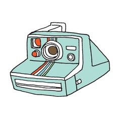 tattly instant camera tat by julia rothman