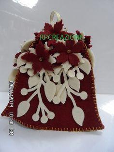 Campana in feltro www.rp-creazioni.it