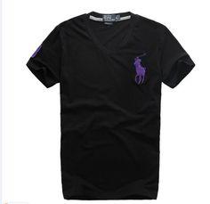 cheap ralph lauren polo shirts Ralph Lauren Men\u0026#39;s Big Pony V-Neck Short Sleeve T