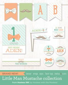New Little Man Mustache Collection!