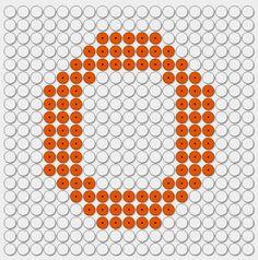 kralenplank letter O