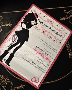 Nashville Bachelorette Party Invitations Cowgirl by trendytreasure, $2.50