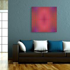 Discover «MoireSymmetry_06_F6_0106», Exclusive Edition Canvas Print by Xose Salgado - From 45€ - Curioos