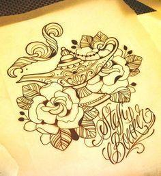 aladdin magic lamp tattoo - Google Search