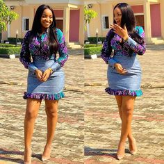Ankara Short Gown Styles for Beautiful Ladies - Ankara Short Gown Styles, Short African Dresses, Short Gowns, Latest African Fashion Dresses, African Print Dresses, African Print Fashion, Africa Fashion, Ankara Fashion, Modern African Fashion