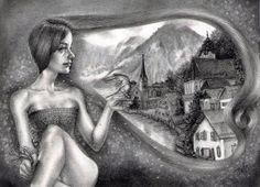 Edelweiss, Jessica Ward - Wanderlust at Modern Eden Gallery