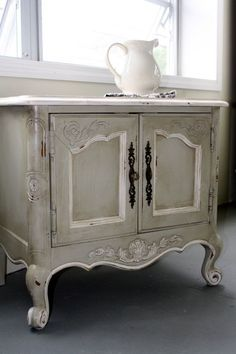 Pretty Painted Night Stand