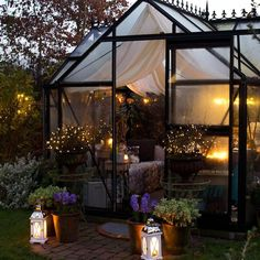 Best Picture For indoor Greenhouse For Your Taste You are looking for something, and it is going to tell you exactly what you are looking for, and you didn't find that picture. Here you will find the Greenhouse Attached To House, Backyard Greenhouse, Small Greenhouse, Greenhouse Plans, Greenhouse Wedding, Backyard Pavilion, Outdoor Spaces, Outdoor Living, Outdoor Decor