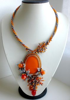 I love this necklace by Ludmila.
