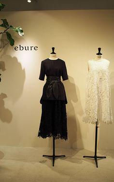 「エブール(ebure)」は「アドーア」や「ボディドレッシング」などを手掛けてきた酒井典子さんがディレクションを務める大人の女性に向けた新ブランド。第1号店はGINZA SIXに出店予定!