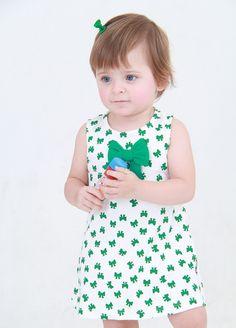 Baby Pima   Polivestido Laço Verde   100% algodão Pima