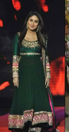 Manish Malhotra Anarkali Collection | Manish Malhotra Actresses Dress Collection kareena-in-anarkali-frock ...