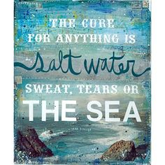 Huge 16 x 20 paper print Salt Water by maechevrette on Etsy found on Polyvore
