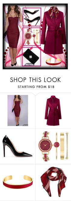 """""""set 115"""" by nudzi-ded ❤ liked on Polyvore featuring Yanny London, Prada, Anne Klein, VANINA, Burberry and Gunne Sax By Jessica McClintock"""