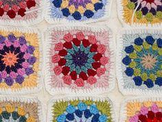 granny circles   New crochet project, blogged bearpawandbear…   Flickr
