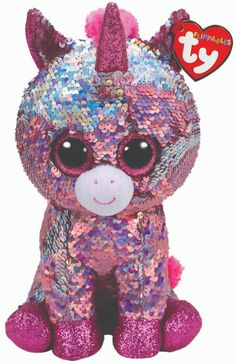 Ty 19203  Ty Sequins Flippables Beanie Boos 6 Sparkle Mwmt 2018 - gt  BUY · Ty  Beanie BoosBeanie BabiesCute BeaniesBean BagTenKids ToysHarrodsPlushSequins 42dfa1bbd719