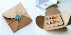 Earring display cards and packaging