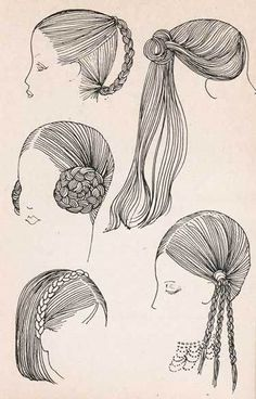 1970s Hairstyles: Braids