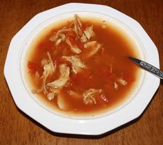 HCG P2 - Mexican Chicken Soup from My HCG Diet
